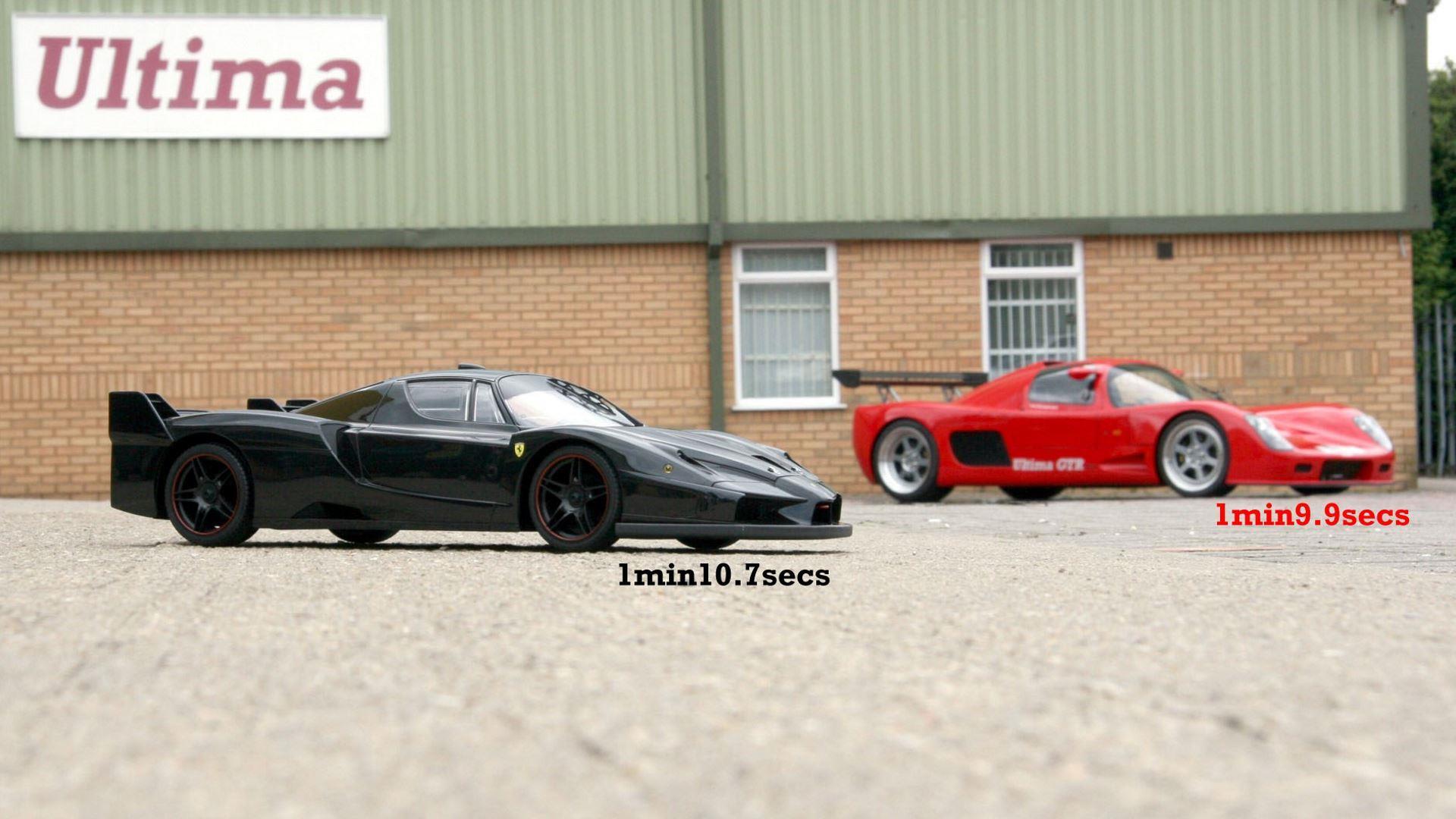 Ultima GTR faster then Ferrari FXX