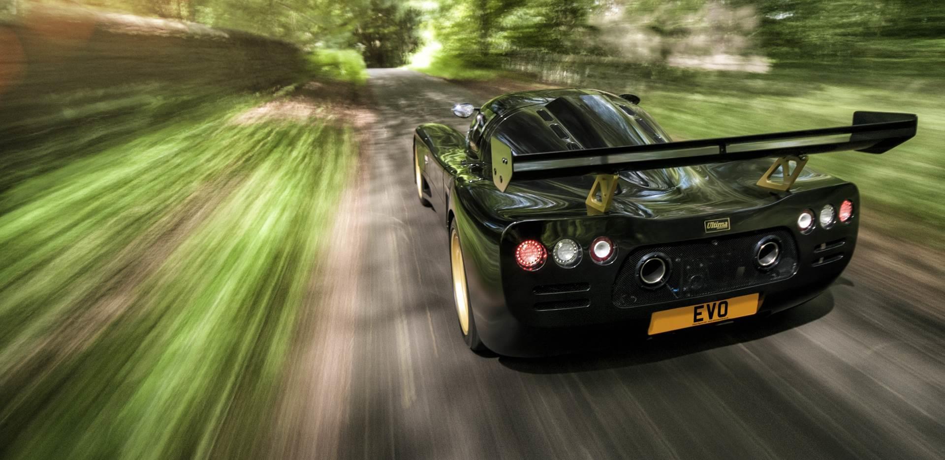 The Ultima EVO Coupe
